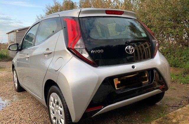 2019 Toyota Aygo – less that two years old!